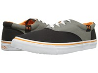 Harley Davidson Lawthorn Black Grey Men's Lace Up Casual Shoes
