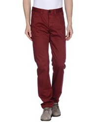 Murphy And Nye Casual Pants Maroon