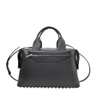 Alexander Wang Rogue Large Satchel Bag In Smooth Calfskin