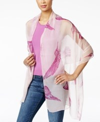 Styleandco. Style And Co. Hummingbird Wrap Only At Macy's Rose Shado