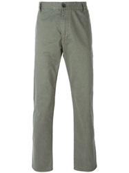 Armani Jeans Classic Chinos Green