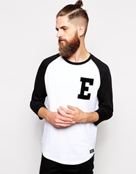 Element Baseball Top Black