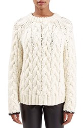 Women's Topshop Boutique Chunky Cable Knit Sweater