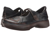Naot Footwear Sea Volcanic Brown Leather Bronze Shimmer Leather Women's Shoes Black