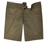 River Island Mens Khaki Slim Fit Chino Shorts
