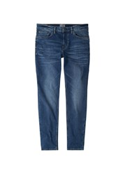 Mango Skinny Medium Wash Jude Jeans Blue