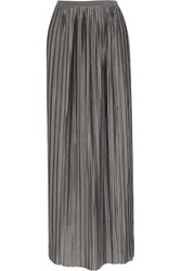 Day Birger Et Mikkelsen Noisy Plisse Jersey Maxi Skirt Gray
