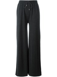 Fabiana Filippi Flared Trousers Grey