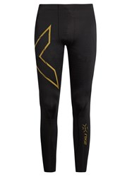 2Xu Elite Mcs Compression Performance Leggings Black Multi