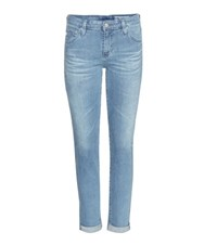 Ag Jeans Stilt Roll Up Cropped Denim Jeans Blue