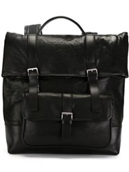 Neil Barrett Buckle Fastening Backpack Black