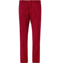 Jil Sander Slim Fit Wool Suit Trousers