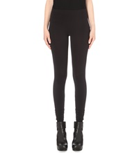 Drkshdw High Rise Stretch Knit Leggings Black