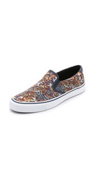 Kenzo Slip On Shoes Flying Tiger Classic Print