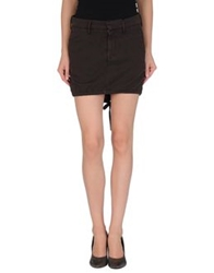 Nolita De Nimes Mini Skirts Dark Brown