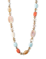 Lonna And Lilly Multi Color Mixed Bead Necklace Brown