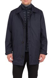 Rainforest Men's Summerton 3 In 1 Heat System Waterproof Trench Coat