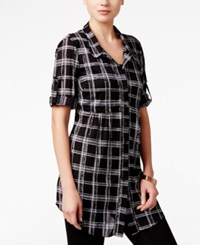 Styleandco. Style Co. Petite Plaid Tunic Shirt Only At Macy's Classy Plaid