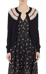Philosophy Di Lorenzo Serafini Women's Fair Isle Cardigan Black