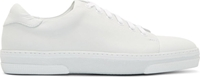 A.P.C. Off White Leather Jaden Tennis Sneakers