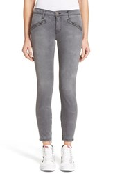 Women's Current Elliott 'The Silverlake Zip' Fitted Skinny Ankle Jeans Dazzler