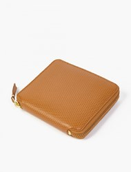 Comme Des Garcons Tan Leather Luxury Wallet