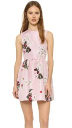Red Valentino Sleeveless Dress With Full Skirt Lilac
