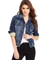 Silver Jeans Denim Jacket Indigo