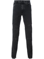 Kenzo Panelled Jeans Black