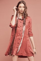 Anthropologie Mariona Shirtdress Medium Pink