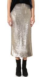 Iro Bump Skirt Gold