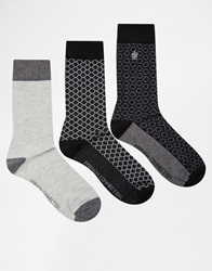 French Connection Socks Grey