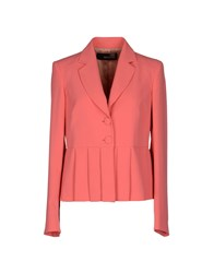 Love Moschino Suits And Jackets Blazers Women Coral