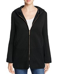 Finity Quilted Hooded Jacket Black