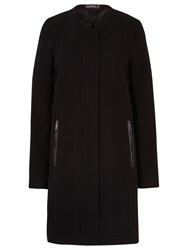 Sugarhill Boutique Kim Zip Detail Coat Black
