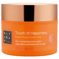 Rituals Touch Of Happiness Sweet Orange And Cedar Wood Body Cream 200Ml
