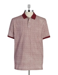 Hudson North Patterned Polo Pelican