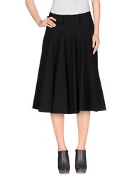 Strenesse Gabriele Strehle Skirts Knee Length Skirts Women Black