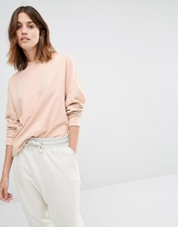 Vila Oversized Sweater Blush Pink
