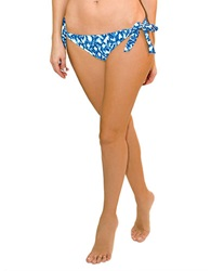 Blush Lingerie Wild Blue Side Tie Swim Bottom