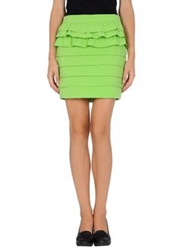 Pf Paola Frani Mini Skirts Light Green