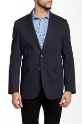 Robert Graham Jarvis Tailored Fit Woven Sport Coat Blue