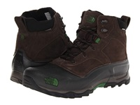 The North Face Snowfuse Ganache Brown Sullivan Green Men's Cold Weather Boots