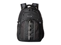Kenneth Cole Reaction Pack Down Polyester Backpack Black Backpack Bags