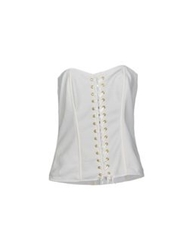 'Oh My Corset' 'Oh My Corset ' Tube Tops White
