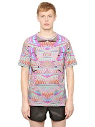 Marcelo Burlon Cotton Jersey Exotic Fish T Shirt