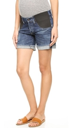 Citizens Of Humanity Skyler Loose Maternity Shorts Blue Ridge