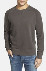 Men's Jeremiah 'Armstrong' Sunwashed French Terry Sweatshirt Coal