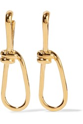 Annelise Michelson Wire Gold Plated Earrings