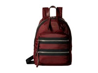 Marc Jacobs Nylon Biker Mini Backpack Rubino Backpack Bags Red
